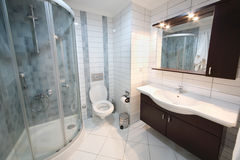 Bathroom in My Marine Residence residential complex Royalty Free Stock Photo
