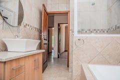 Bathroom of a Newly Build House Stock Photos
