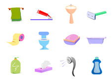 Bathroom Objects Royalty Free Stock Photos