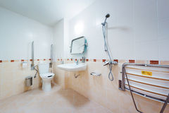 Bathroom for people with disabilities Royalty Free Stock Photo