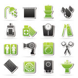 Bathroom and Personal Care icons Royalty Free Stock Photo
