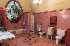 Bathroom private villa Havana Stock Photos