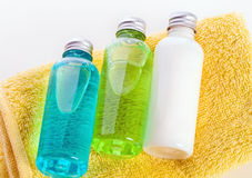 Bathroom products Royalty Free Stock Photo