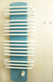 Bathroom radiator Royalty Free Stock Photo