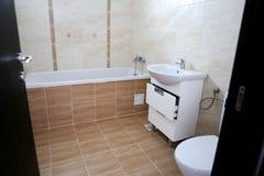 Bathroom real estate Stock Photography
