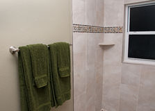 Bathroom Remodeled Stock Photography