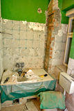 Bathroom renovation Stock Photos