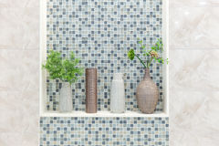 Bathroom restroom or toilet nature decoration. Royalty Free Stock Photography