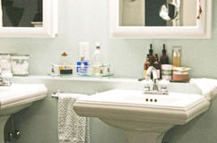 Bathroom retreat Stock Photography