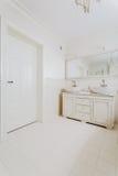 Bathroom in retro style Royalty Free Stock Photo