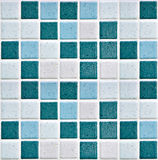 Bathroom's tiles Royalty Free Stock Images