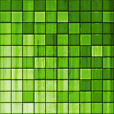 Bathroom's tiles. Colorful modern mosaic tile in a bathroom Stock Photo