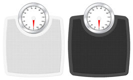 Bathroom scale Stock Photos
