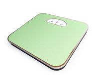 Bathroom scale Royalty Free Stock Image