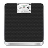 Bathroom scale icon. Vector illustration Royalty Free Stock Images