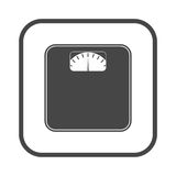 Bathroom scale icon Stock Photos