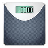 A bathroom scale Royalty Free Stock Photography