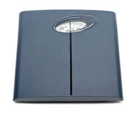 Bathroom scale isolated Royalty Free Stock Image