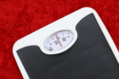 Bathroom scale Royalty Free Stock Photos