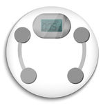 Bathroom scale Stock Photography