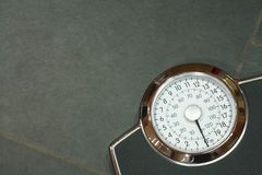 Bathroom scales Stock Image