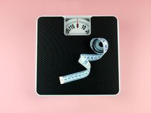 Bathroom Scales royalty free stock images