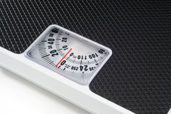 Bathroom Scales Royalty Free Stock Photo