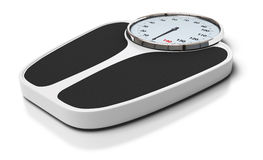 Bathroom scales Stock Photography