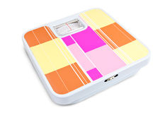 Bathroom scales Royalty Free Stock Photography