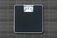 Bathroom Scales Royalty Free Stock Photos