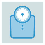 Bathroom Scales Stock Images