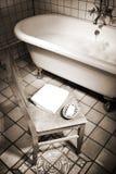 Bathroom scene Stock Images