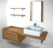 Bathroom set Royalty Free Stock Image