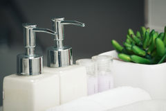 Bathroom set Stock Images