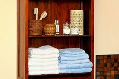 Bathroom shelf Stock Photography