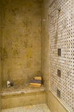 Bathroom shower 2745. Luxurious shower in a modern bathroom stock image