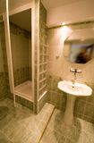 Bathroom shower cabin. Royalty Free Stock Photo