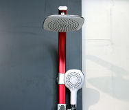 Bathroom  shower faucet. Picture of a bathroom  shower faucet Royalty Free Stock Image