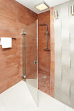Bathroom shower - interior design Royalty Free Stock Photography
