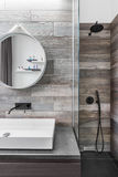 Bathroom with shower Royalty Free Stock Images