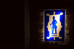 Bathroom Signs Royalty Free Stock Photography