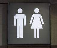 Bathroom signs royalty free stock images