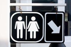 Bathroom Signs Royalty Free Stock Photos