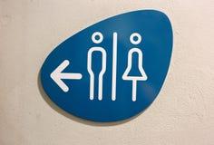 Bathroom Signs. Stock Image