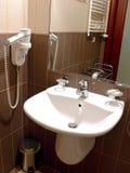 Bathroom sink stock photography