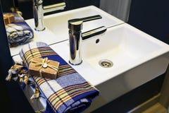 Bathroom sink royalty free stock photography