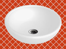 Bathroom sink vector Stock Photo