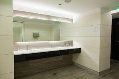 Bathroom sink. Luxury bathroom sink in a new apartment royalty free stock image