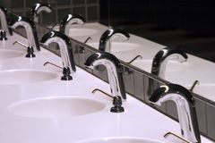 Bathroom Sinks 1 Stock Photo