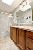 Bathroom with skylight ceiling Stock Photography